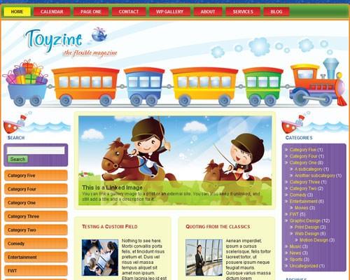 Дизайн сайта игр
