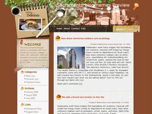 Шаблон на тему туризма для ВП Travel-from-anywhere
