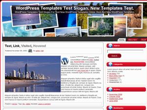 Шаблон о путешествиях Travel_Places для WordPress
