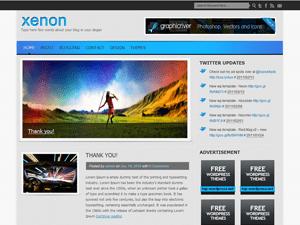 Шаблон галерея WordPress Xenon
