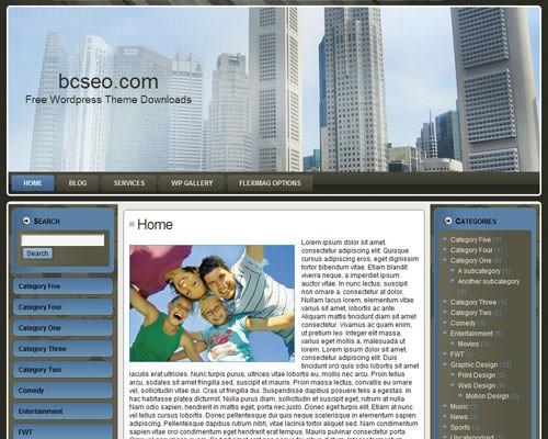 Бизнес-шаблон для Вордпресс Business for sale 3