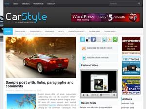 Автомобильная тема CarStyle Вордпресс