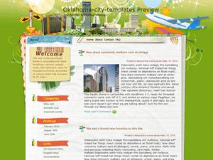 Шаблон о туризме WordPress Chances for fun
