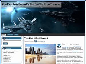 Игровая тема EVE Online WordPress