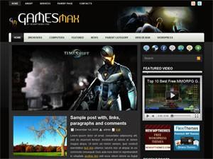 Игровая тема Вордпресс GamesMax