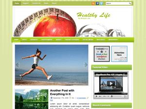 Шаблон о здоровье Вордпресс HealthyLife