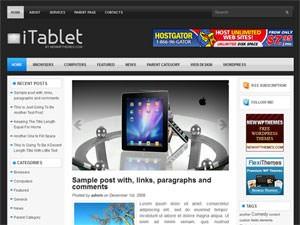 Современный шаблон WordPress iTablet