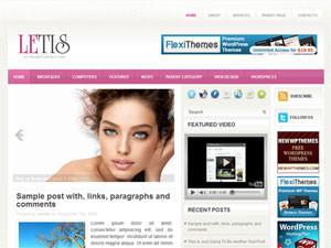 Женская тема WordPress Letis