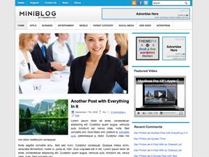 Бизнес-тема WordPress MiniBlog