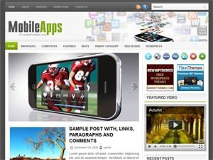 Вордпресс тема мобильные телефоны MobileApps