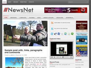 Новостная тема WP NewsNet