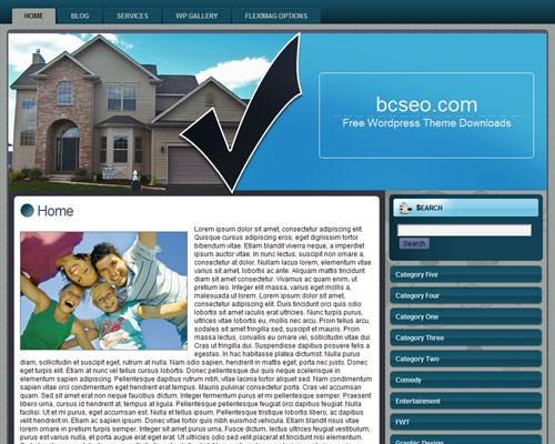 Шаблон недвижимость Вордпресс Real estate agent 2