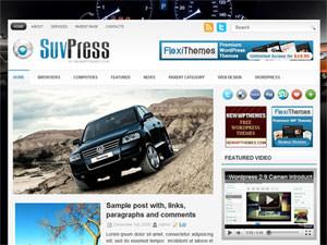 Автомобильный шаблон WordPress SuvPress