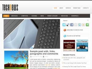 Современная тема TechNews для WP