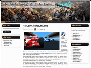 Игровая тема WordPress Warhammer Online