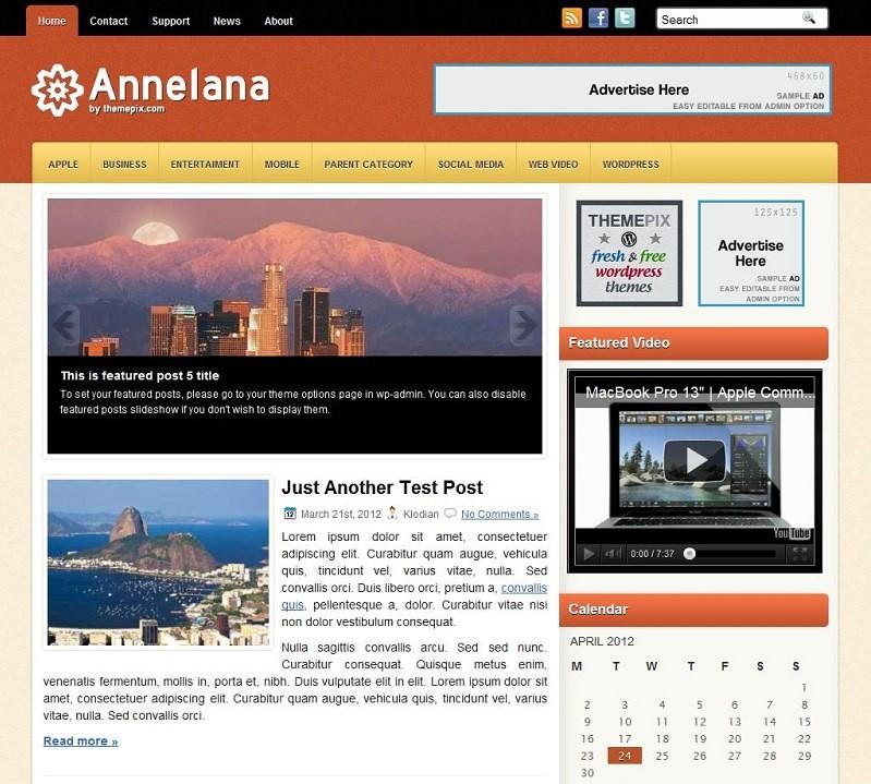 Бизнес-шаблон Annelana