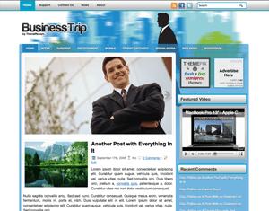 Бизнес-тема Вордпресс BusinessTrip