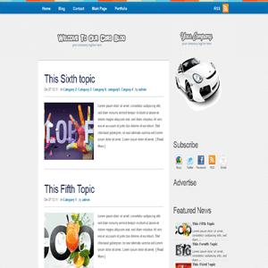 Автомобильная тема WordPress CarsBlog