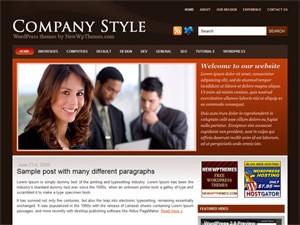 Шаблон Вордпрес бизнес CompanyStyle
