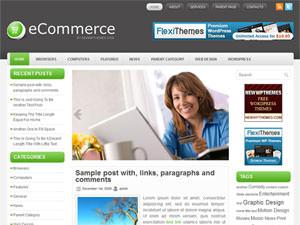 Бизнес-шаблон WordPress eCommerce