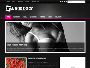 Шаблон Вордпресс мода Fashion
