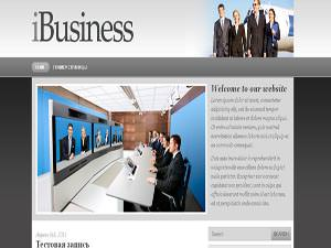 Бизнес тема WordPress iBusiness