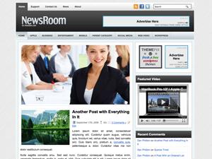 Бизнес-тема Вордпресс NewsRoom