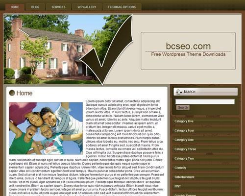 Шаблон на тему недвижимости WordPress Real estate agent 4