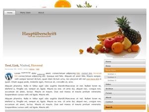 VitaminBomb шаблон для сайтов о диете на WordPress