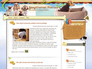 Шаблон Вордпресс домашние животные Soul Partners