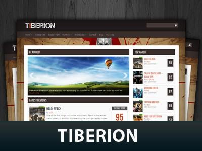 Стильная тема для Вордпресс Tiberion