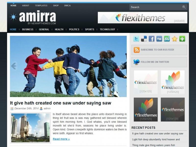 Русская тема Amirra