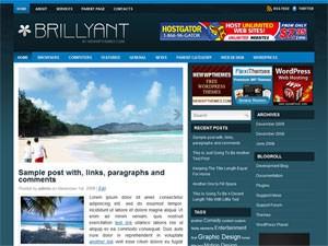 Шаблон Вордпресс туризм и путешествия Brillyant