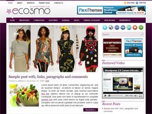 Тема WordPress мода Ecosmo