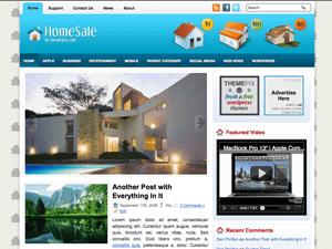 Шаблон Вордпресс домашний интерьер HomeSale