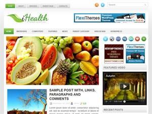 Тема Вордпресс здоровье iHealth