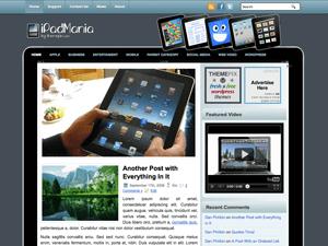 Шаблон WordPress современные гаджеты iPadMania