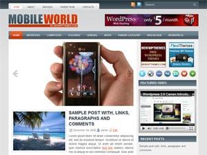 Вордпресс тема телефоны MobileWorld