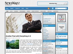 Русская тема WordPress NewsMagz