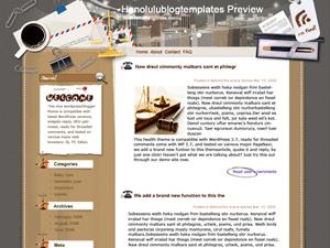 Шаблон Вордпресс бизнес On-principles