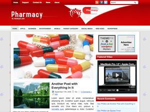 Вордпресс тема медицина Pharmacy