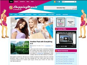 Шаблон ShoppingMania