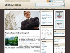 Бизнес шаблон Вордпресс StigmaMagazine