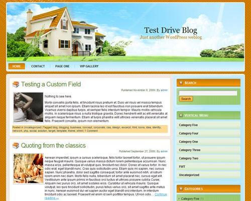 Шаблон Wp real estate