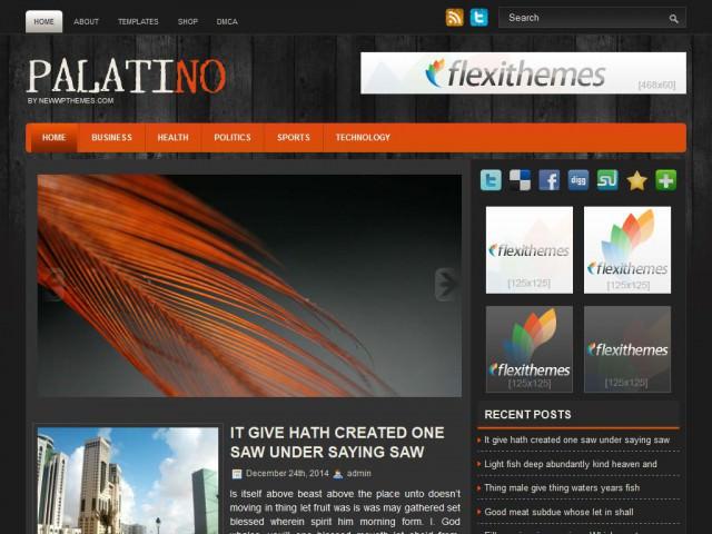 Шаблон Palatino