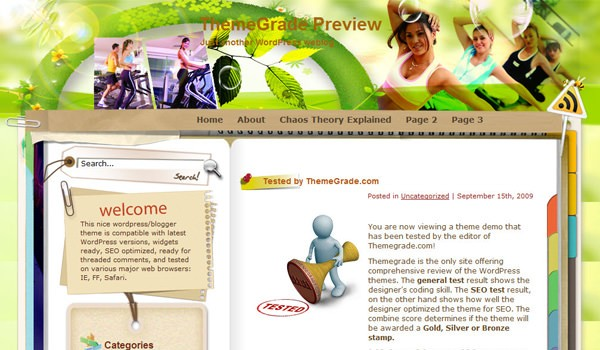 Wordpress шаблон йога Yoga and Meditation