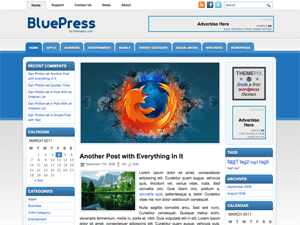 Универсальная тема Вордпресс BluePress