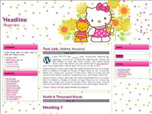 Детская тема WordPress Children School