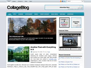Универсальная тема WordPress CollageBlog