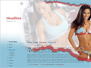 Вордпресс тема фитнес Fitness Star ad